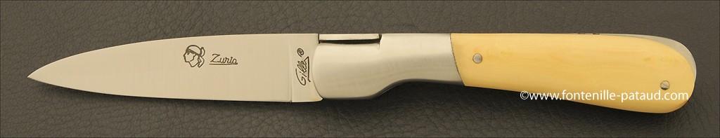 Couteau Pialincu Corse Classique Buis