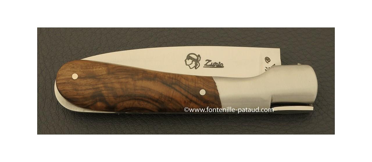 Couteau Pialincu Corse Classique Noyer