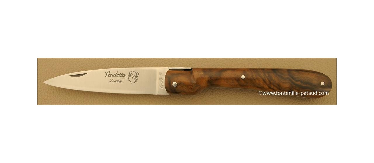 Corsican Vendetta knife Traditional Range full handle Walnut