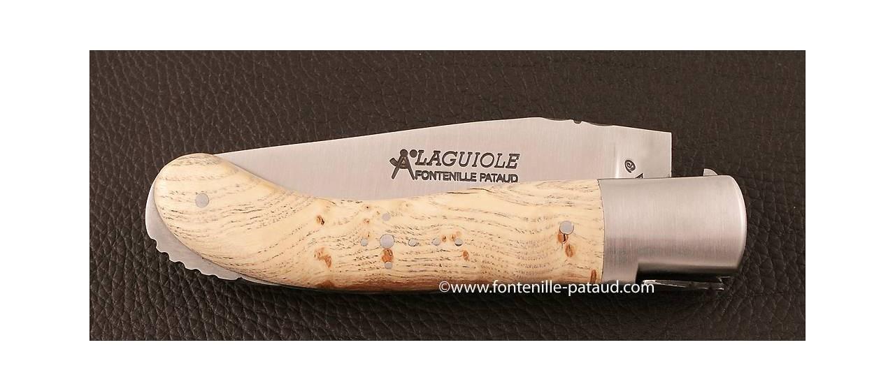 Couteau Laguiole Sport loupe de frêne
