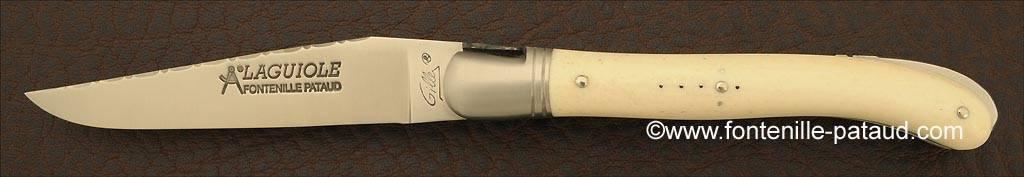 Laguiole avec système de pompe arrière made in France