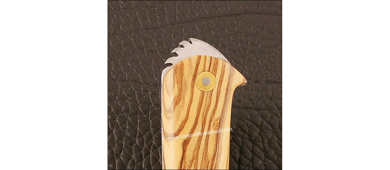Couteau le 5 Coqs olivier fabriqué en France