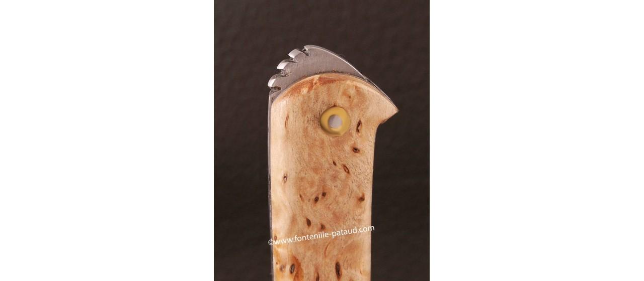 Couteau le 5 Coqs Bouleau fabriqué en France