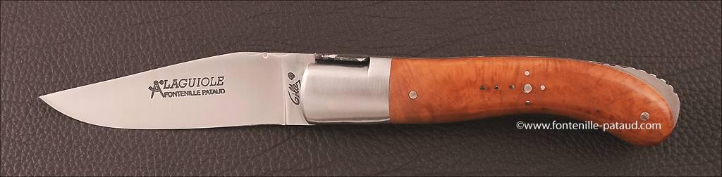 Couteau Laguiole Sport racine de bruyère