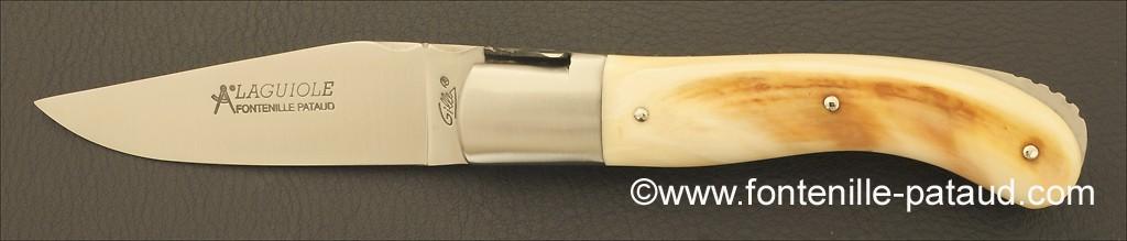 Couteau Laguiole Sport ivoire de phacochère