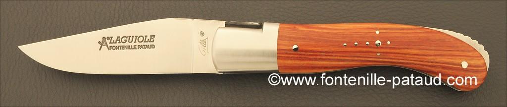 Couteau Laguiole Sport avec manche en bois de rose