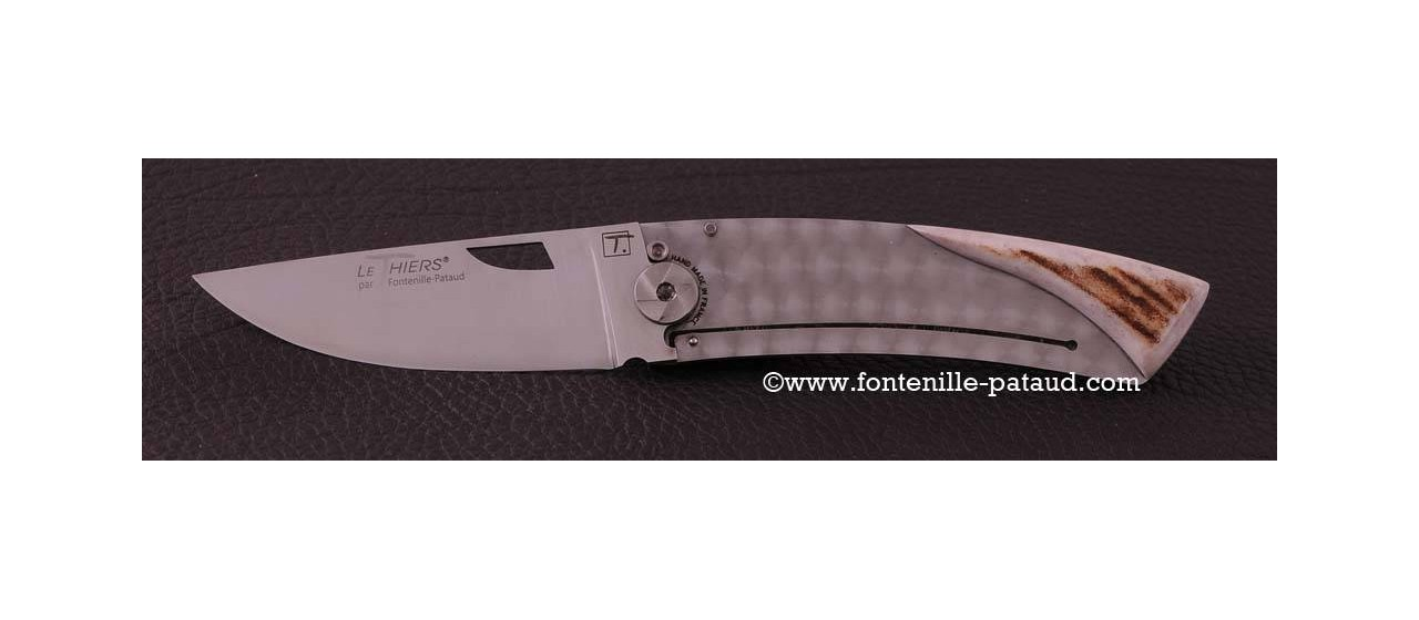 Le Thiers Knife Craft Range Stag horn