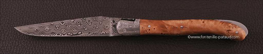 Couteau laguiole fabrqiué dans notre coutellerie artisanale