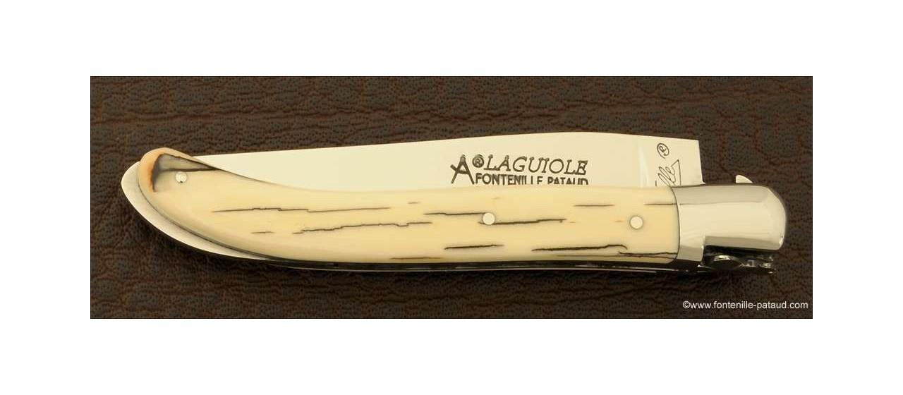 Couteau laguiole xs en croûte d'ivoire