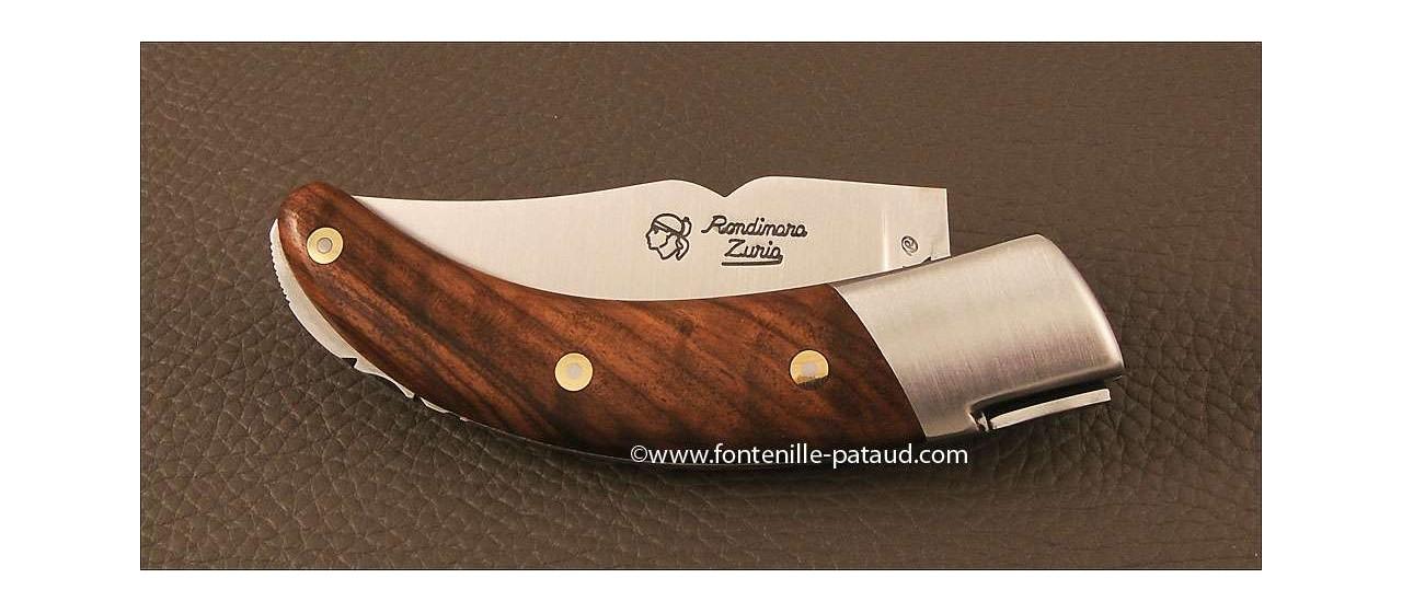 Couteau Corse le Rondinara Classique Noyer