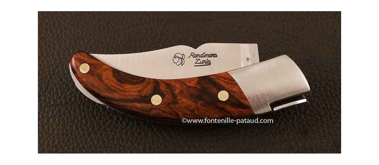 Couteau Corse le Rondinara Classique Bois de fer