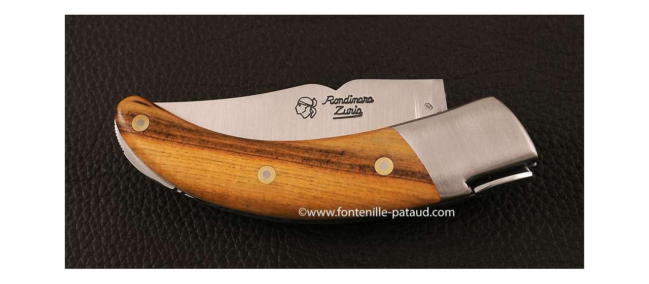 Couteau Corse le Rondinara Classique Pistachier