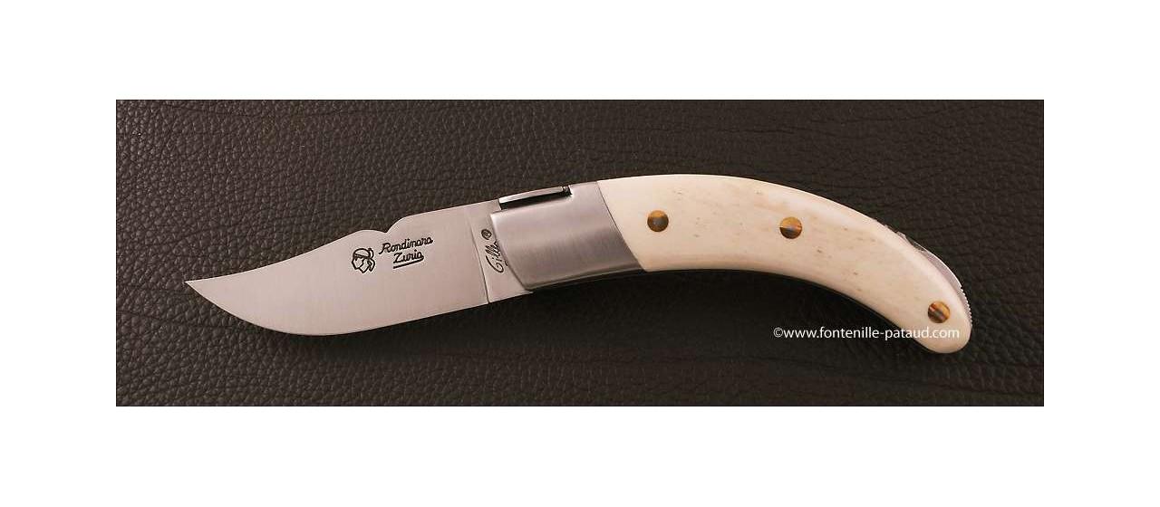 Couteau Corse le Rondinara Classique Os