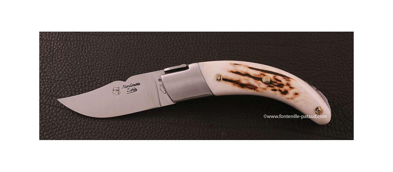 Couteau Corse le Rondinara Classique Bois de cerf