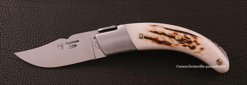 Corsican Rondinara knife classic range stag
