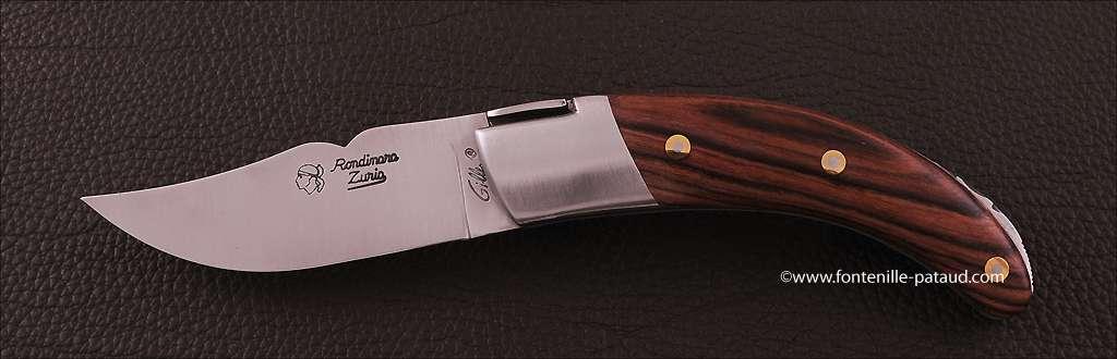 Corsican Rondinara knife classic range purplewood