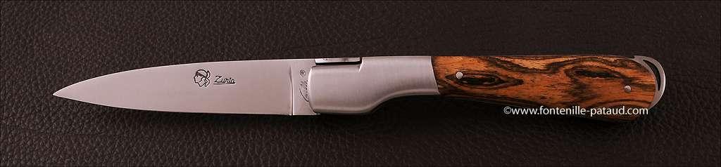 Couteau Corse le Sperone en Bocote
