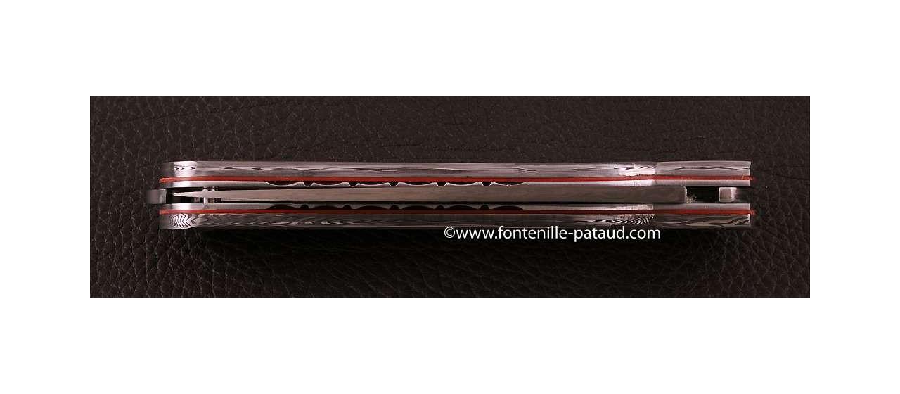 Corsican Sperone knife Damascus Range Full Damascus