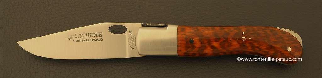Laguiole Knife Gentleman Single Hand Opening Range Amourette