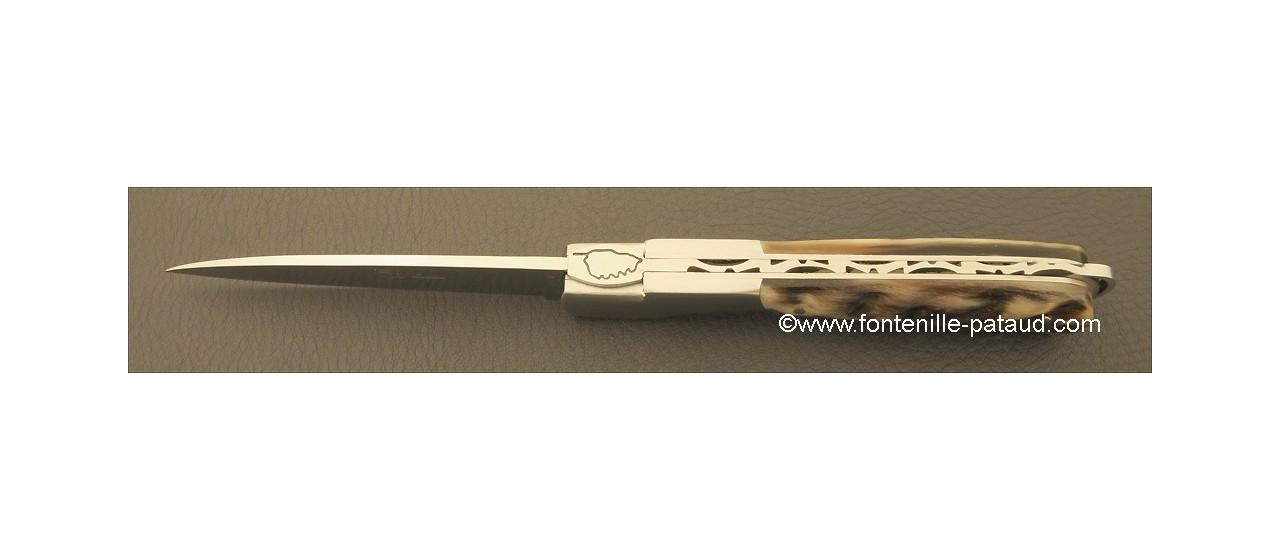 Couteau Sperone Corse Classique Belier Noir