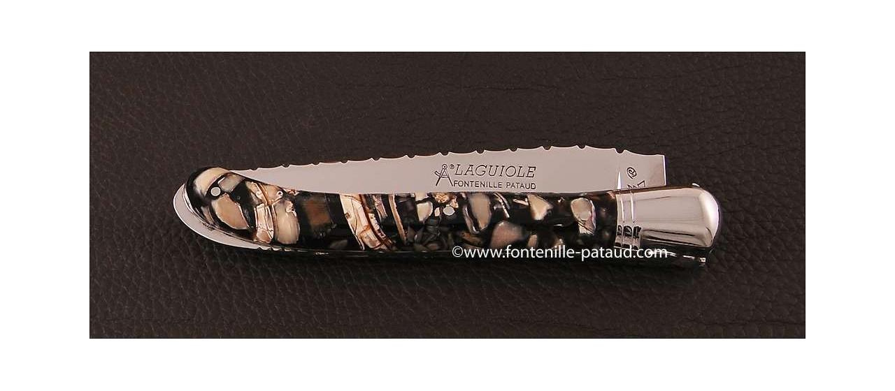 Laguiole de luxe en ivoire de mammouth