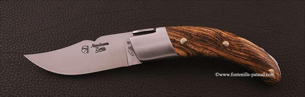 Corsican Rondinara knife classic range bocote