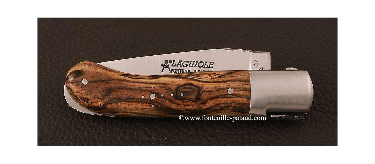 Laguiole Knife Gentleman Classic Range Bocote