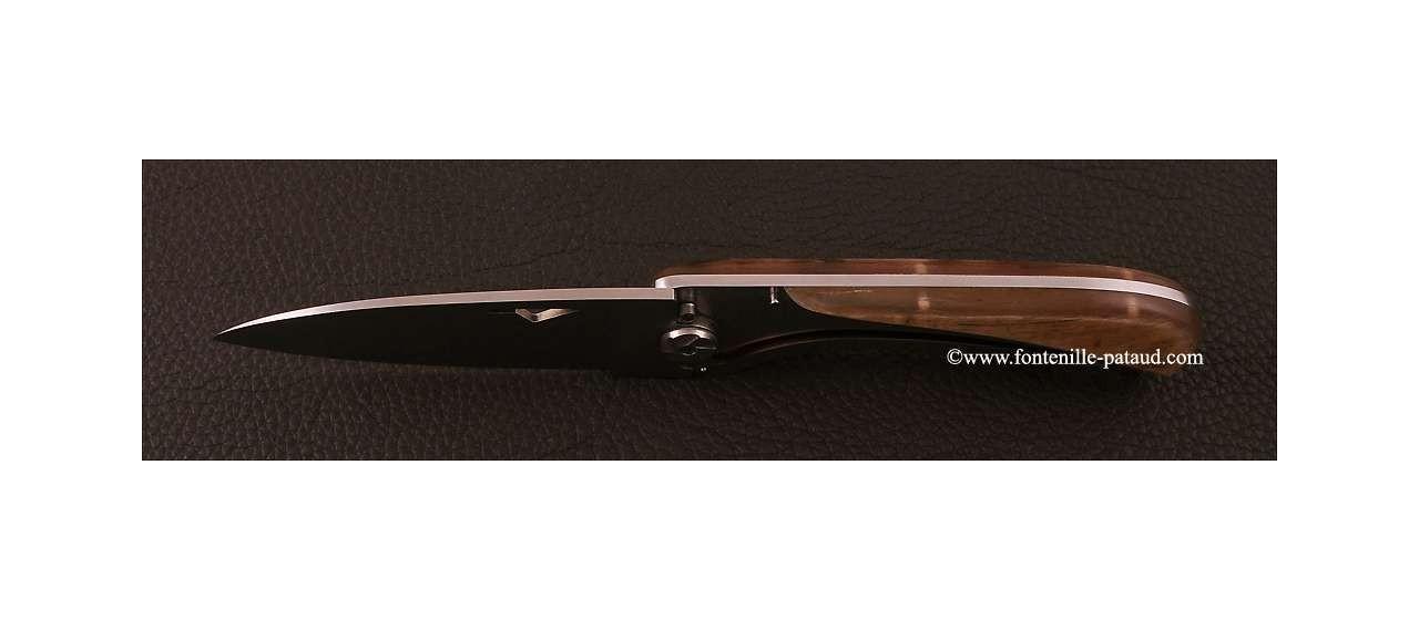 Corsican U Cumpa knife Classic range Ram horn