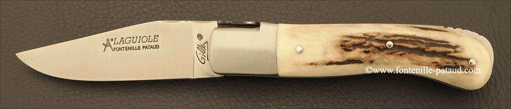 Laguiole Knife Gentleman Classic Range Stag