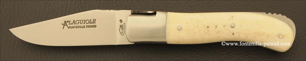 Laguiole Knife Gentleman Classic Range real Bone