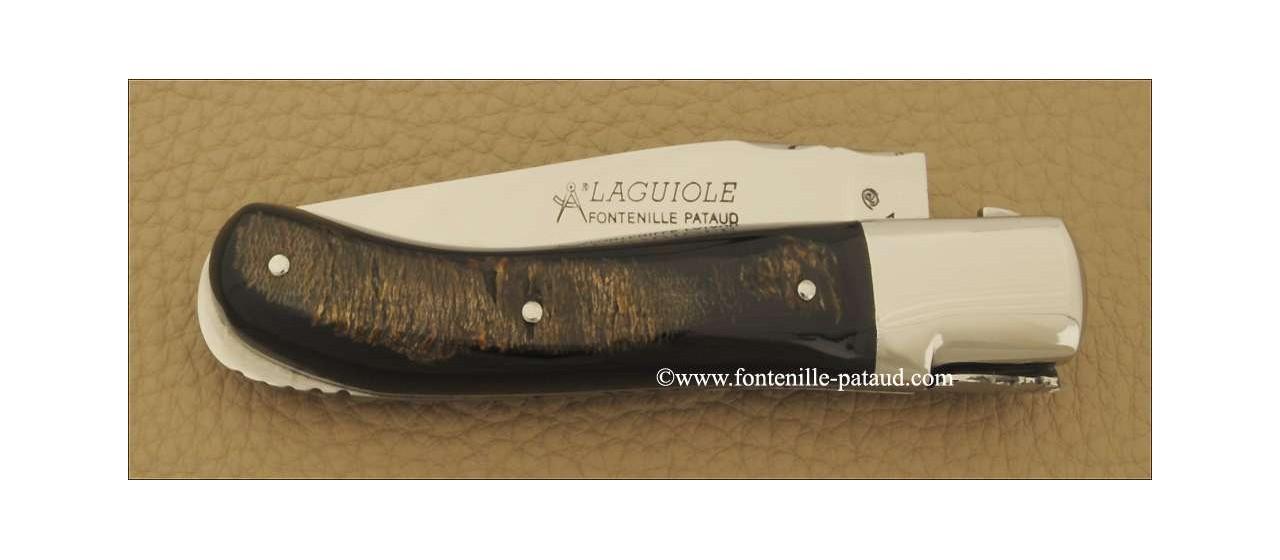 Couteau Laguiole Gentleman Classique Buffle brut