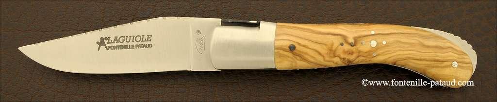 Couteau Laguiole Sport olivier