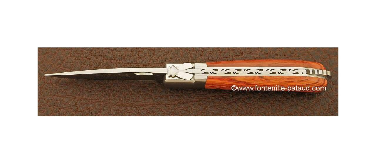 Laguiole Knife Gentleman Single Hand Opening Range Rosewood