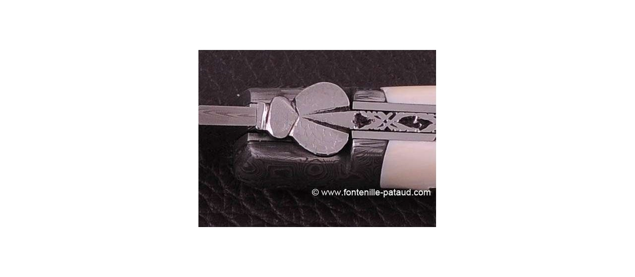 handmade in France laguiole knife with lock back system