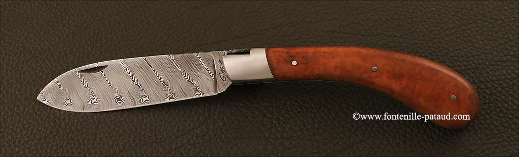 Le Chamois® 12 cm Damascus Range Briar