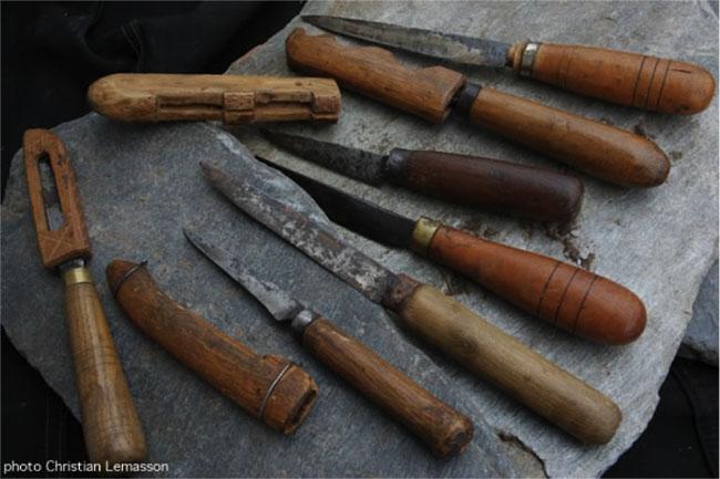 Avant le couteau Laguiole : le Capuchadou