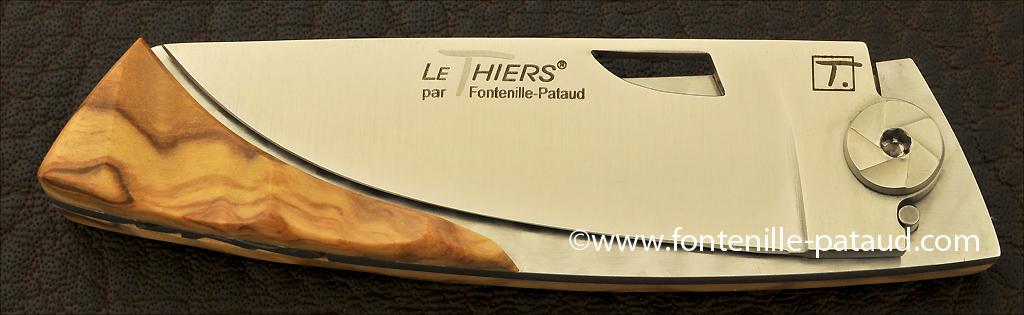Couteau Le Thiers fabriqué par notre coutellerie en France