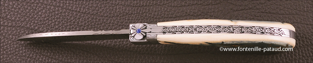 Le chamois knife, knife handmade in France by cutlery Fontenille Pataud