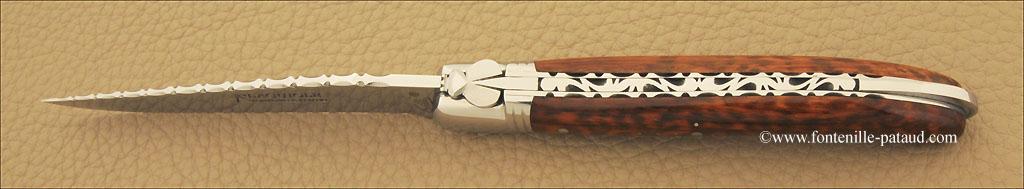 Couteau Laguiole Nature Guilloché