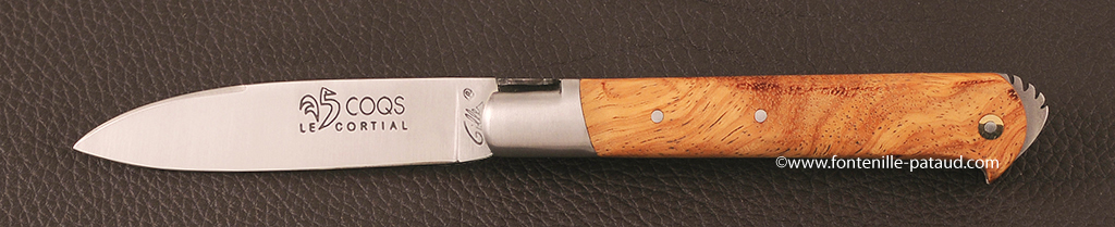 Folding knife le 5 coqs by Fontenille-Pataud, knife made in france