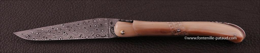 Laguiole nature knife full handle