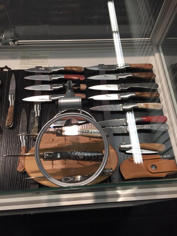 New folding knife handmade in France