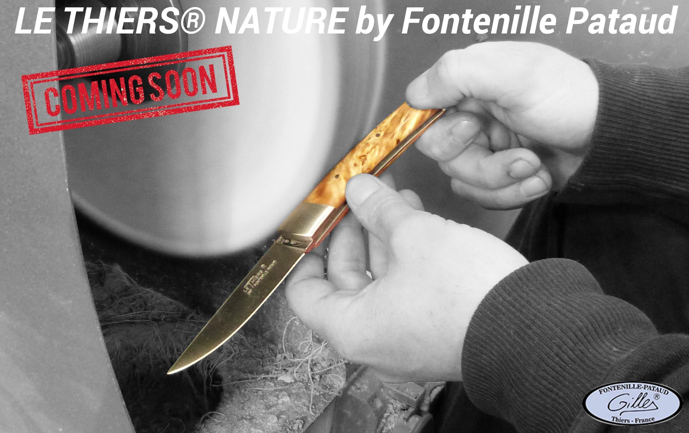 nouveau couteau Le Thiers Nature