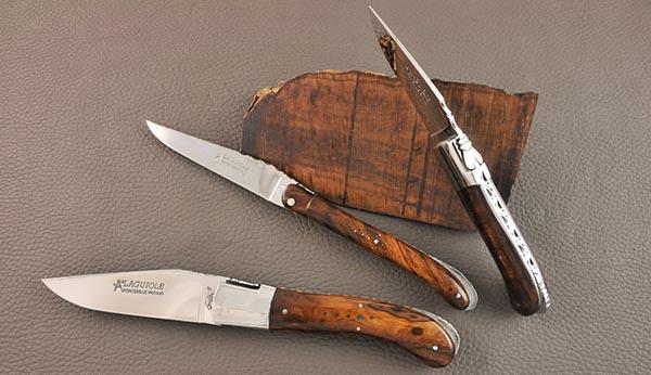 Laguiole et bois de fer