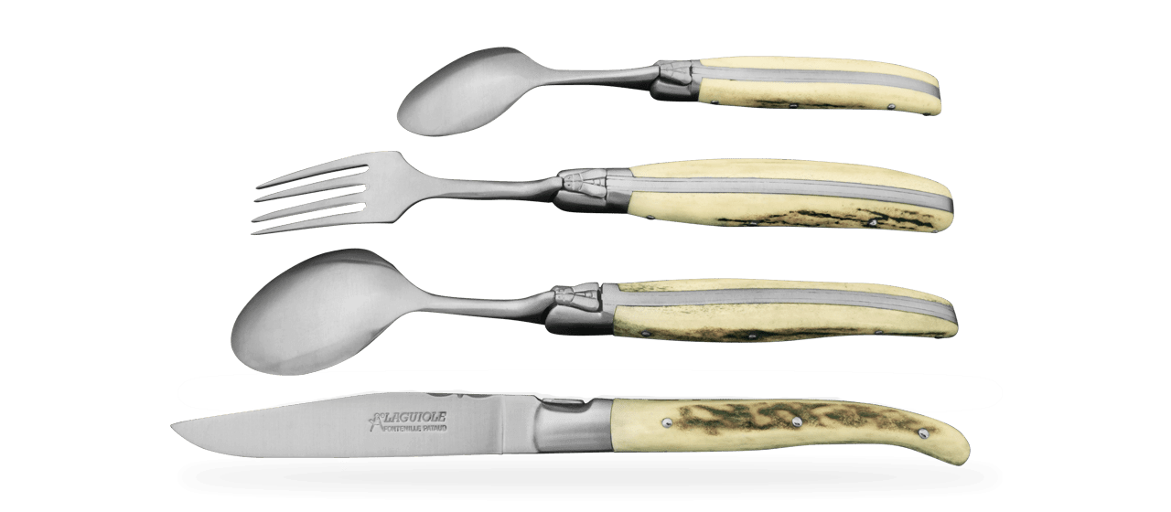 8 pcs Laguiole Cutlery & Steak Knives