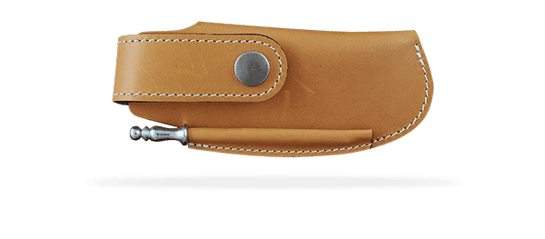 Leather sheaths and pouches