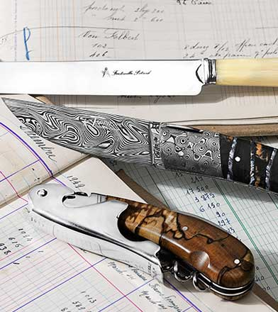 Stories of french knives