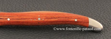 Folding knife rosewood