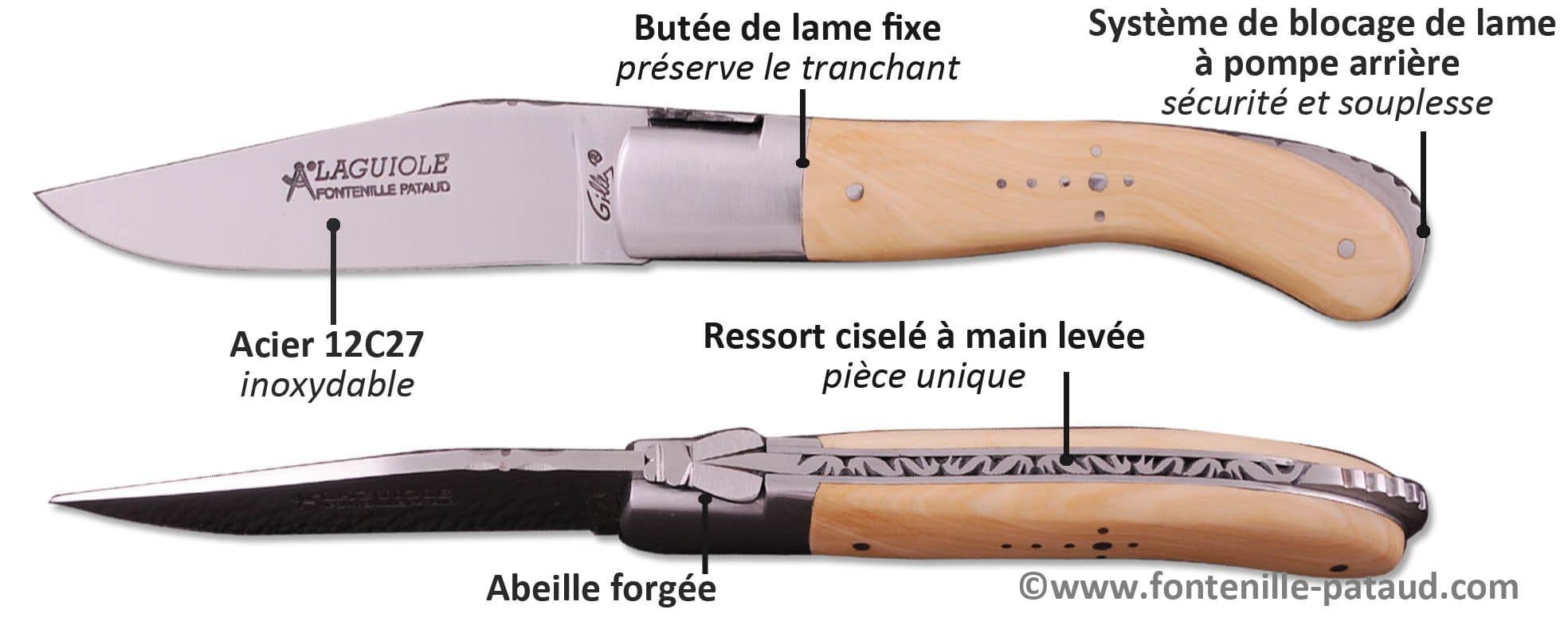 Couteau laguiole sport fabriqué en France