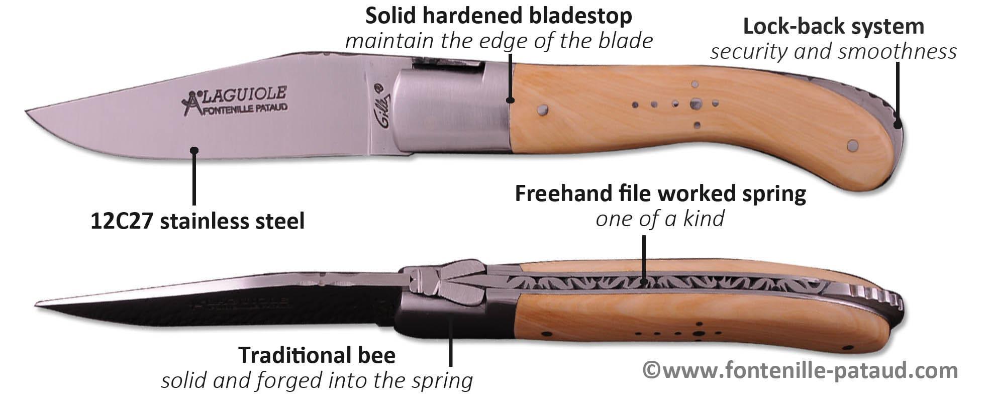 Handmade Laguiole sport knife